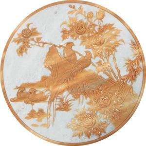 花鸟浮雕1450(预订)